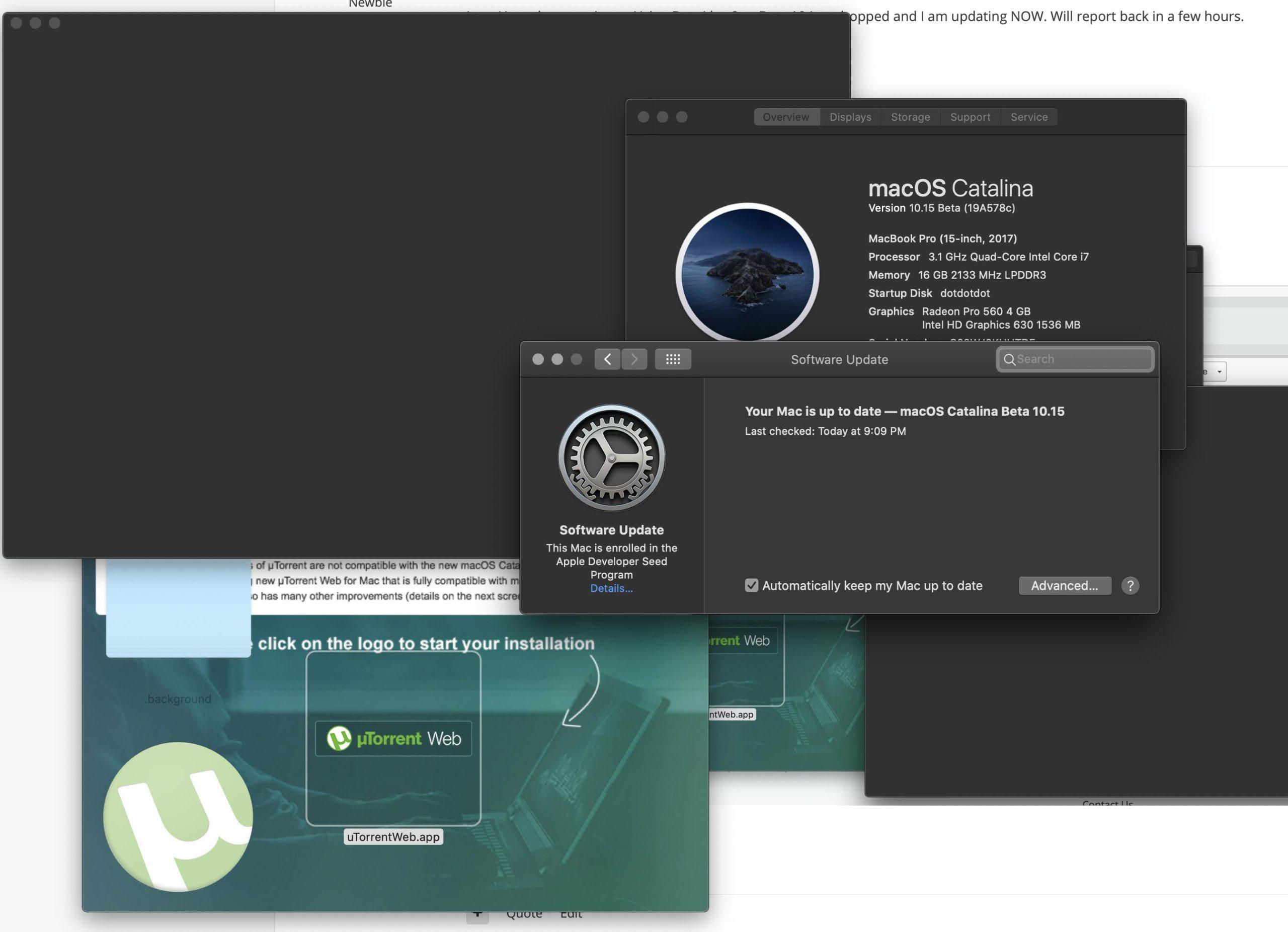 Преимущества Utorrent для Mac OS Catalina